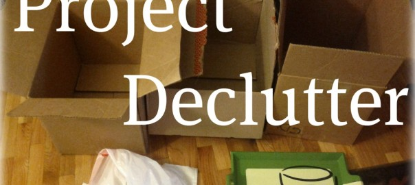 Decluttering Project